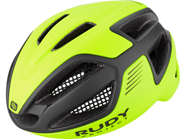 Rudy Project Spectrum Fietshelm, yellow fluo/black matte